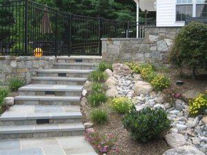 paver walkway in Montgomery Village